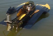 Vintage speedboats hydroplanes