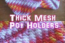 Crochet Potholders, Dishcloths and Dish Towels / Free Crochet Patterns  potholders, dishcloths and dishtowels