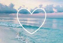 Liebe zart sanft, Kraft wie das Meer Sonne