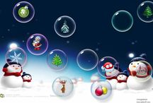 Merry Christmas with bubbles! / Merry Christmas with bubbles form Extreme Bubbles, Inc. / by Extreme Bubbles, Inc.