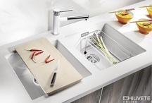 Chiuveta Blancosubline 400-U Silgranit / Linia de designer pentru montare sub blat din SILGRANIT® PuraDur® II