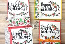 Stampin Up Big on Birthdays