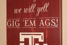 Gig 'Em, Aggies! / by Shelby Walla