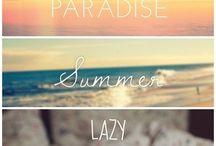 Summer! / We want the sun!