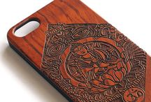 engraved mobile cover