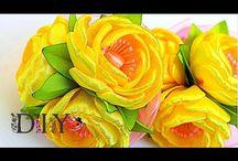 Цветы лента