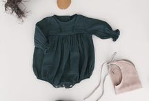 Flatlay baby outfit