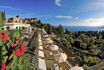 Belmond Grand Hotel Timeo, Sicily / Seamless Sicilian Luxury:  http://www.italytraveller.com/en/z/grand-hotel-timeo #ItalyTraveller