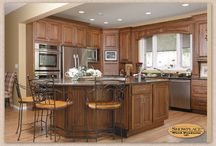 A Mix of Styles - Showplace Cabinets / Hamilton and Tahoe Door Styles