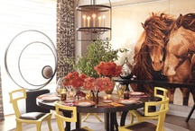 ☆ Dining Rooms ☆ / by Vedante { Barbara Kantor }