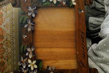 French antiques frames and pictures