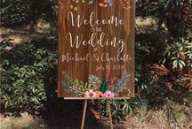 WEDDING SIGN WOOD