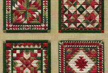 vyšívany patchwork