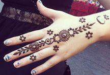 Henna left hand one 2