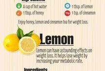 Honey, cinnimon & Lemon