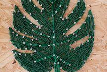 String art / A string resulta em lindos quadros para mudar o visual de qualquer ambiente!