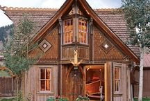 A home and boathouse in Creede, Colorado, modeled after Norwegian stave church architecture. Designer and builder Bryan Anderson's busi…