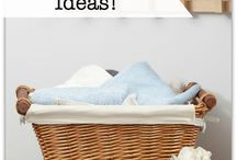 Organizing / I love an organized home.  Here are some great ideas!