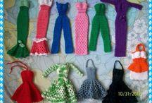 Barcie Doll Crochet patterns
