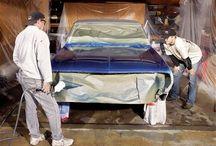 painting car at home
