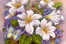 canasta flor