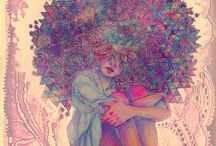 Caricature delle capellone.....