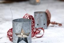 Joulu, lyhtyjä&kynttilöitä