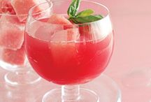 Cocktails. Smoothies. Lemonades.