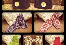 Tejidos Crochet / Múltiples accesorios y prendas, hechos con esta técnica. También patrones y puntos a realizar.