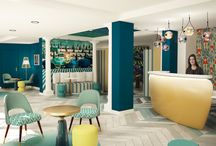 Hôtel pour vacanciers à Nice / rénovation d'un hôtel pour séjour estival sur la Riviera à Nice