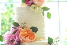 Wedding cake ideas / by Allie Wells