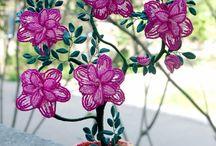 fleurs de perles