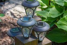 garden lights ideas