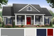 exterior house colours