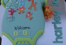 Babyshower-taarten
