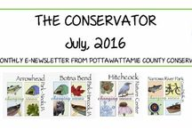The Conservator / Monthly e-newsletter from Pottawattamie County Conservation.
