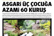 2014 Temmuz - Manşetler