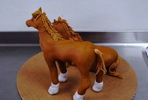 Fondant Pferd