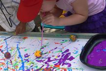 Art with Kids / Art projects to do with the kids.