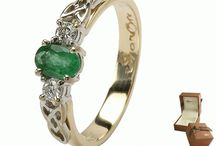 Celtic Jewelry / A fine selection of beautiful Irish Jewelry randing from Birthstone rings to amazing diamond engagement rings