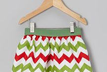 Christmas skirts / Hmmm... which skirt should we make for the girls this year? / by gracefullhome