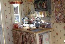 miniatury a domky pro panenky