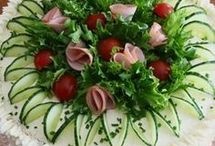 Salades opmaken!