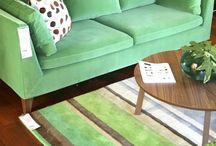 Stockholm green rug