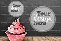 Party Favor Mockups / Mockups and more!
