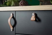 leather pulls handles