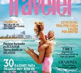 Portadas / Abrimos la puerta de nuestra casa viajera mes a mes: estas son las covers de Condé Nast Traveler España.