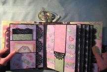 mini alba/scrapbook cards