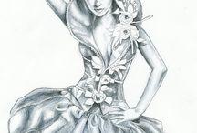 Fashion drawing / Fashion art