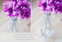 > Paper Flowers and Garlands <